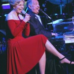 NEW YORK - OCTOBER 26:  Toni Tennille,Neil Sedaka performing at the Neil Sedaka Celebrates 50 Years of Hits Avery Fisher Hall New York City October 26 2007  (Photo by Bobby Bank/WireImage) *** Local Caption *** Toni Tennille; Neil Sedaka